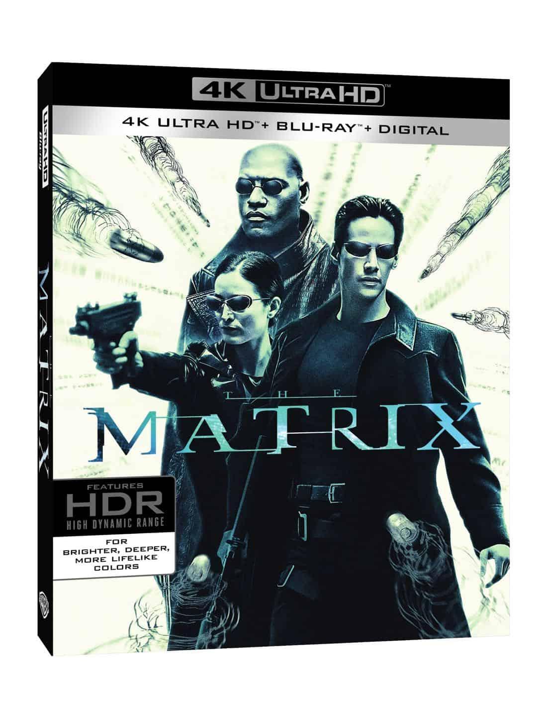 The Matrix 4K Ultra HD + Blu-ray + Digital