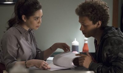 """RISE -- """"Most of All to Dream"""" Episode 102 -- Pictured: (l-r) Auli'i Cravalho as Lilette Suarez, Damon J. Gillespie as Robbie Thorne -- (Photo by: Virginia Sherwood/NBC)"""