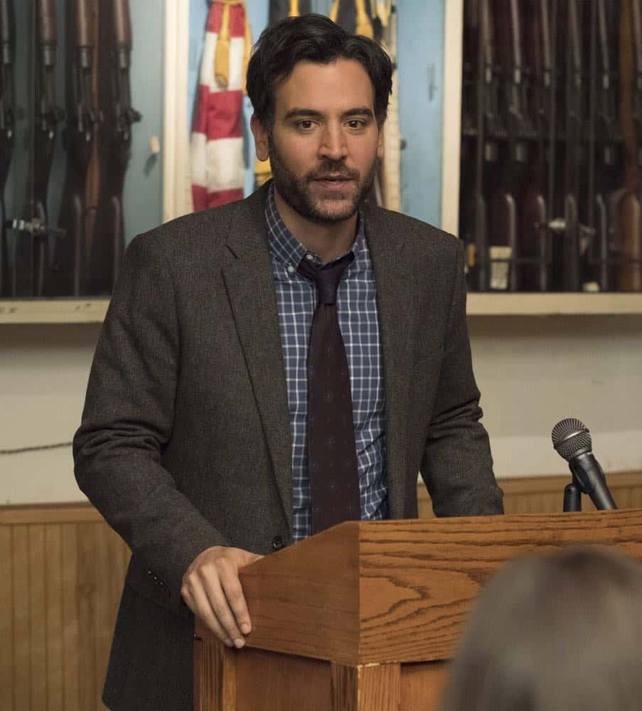 "RISE -- ""Most of All to Dream"" Episode 102 -- Pictured: Josh Radnor as Lou Mazzuchelli - (Photo by: Virginia Sherwood/NBC)"