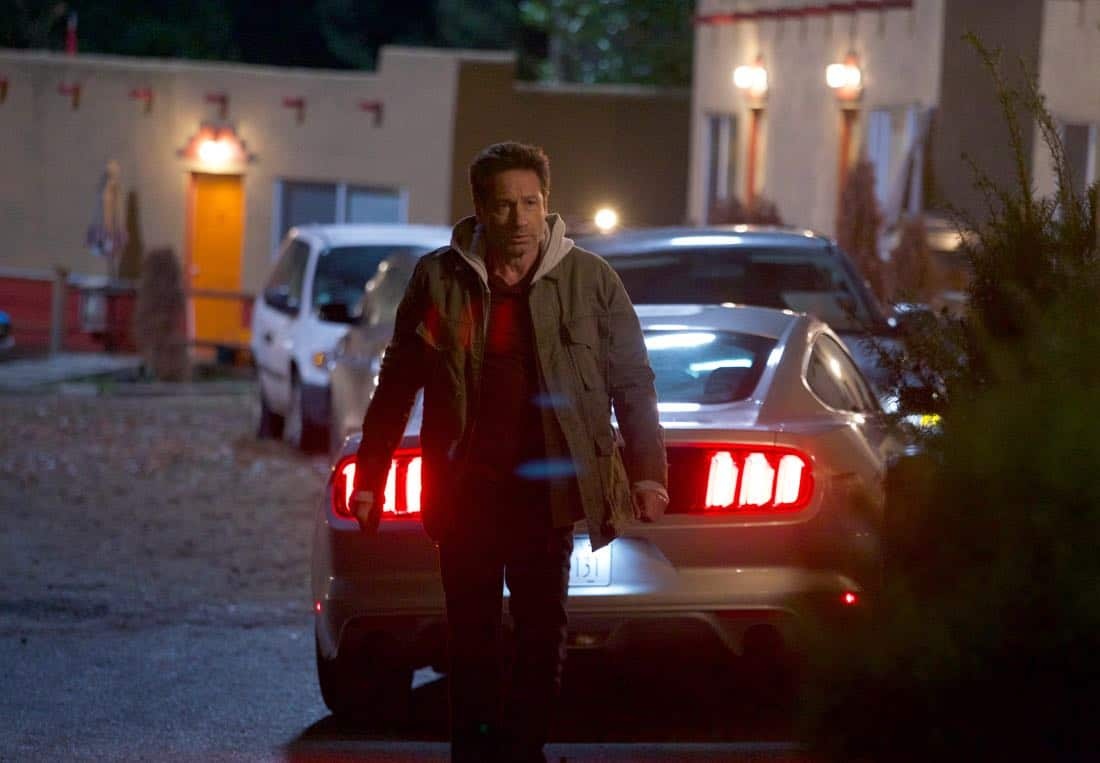 """THE X-FILES:  David Duchovny in the """"My Struggle IV"""" season finale episode of THE X-FILES airing Wednesday, March 21 (8:00-9:00 PM ET/PT) on FOX. ©2018 Fox Broadcasting Co.  Cr:  Shane Harvey/FOX"""