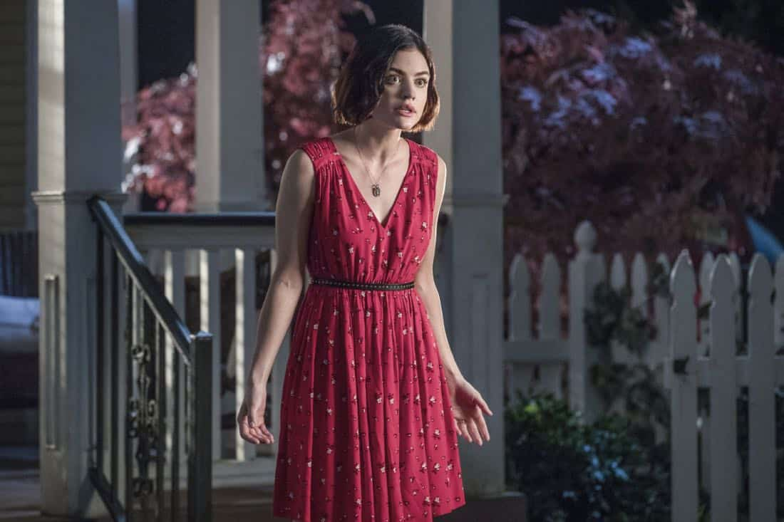 "Life Sentence -- ""Re-Inventing the Abbotts"" -- Image Number: LFS102c_0345b.jpg -- Pictured: Lucy Hale as Stella -- Photo: Jack Rowand/The CW -- © 2018 The CW Network, LLC. All Rights Reserved."