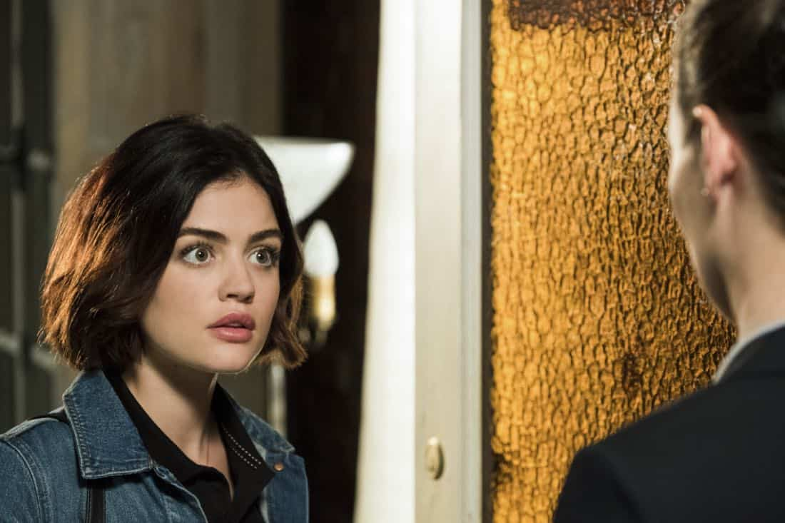 "Life Sentence -- ""Re-Inventing the Abbotts"" -- Image Number: LFS102a_070b.jpg -- Pictured: Lucy Hale as Stella -- Photo: Eric Milner/The CW -- © 2018 The CW Network, LLC. All Rights Reserved."