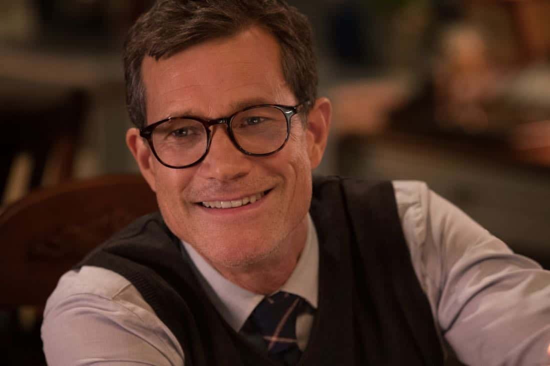"Life Sentence -- ""Re-Inventing the Abbotts"" -- Image Number: LFS102a_0251.jpg -- Pictured: Dylan Walsh as Peter -- Photo: Jack Rowand/The CW -- © 2018 The CW Network, LLC. All Rights Reserved."