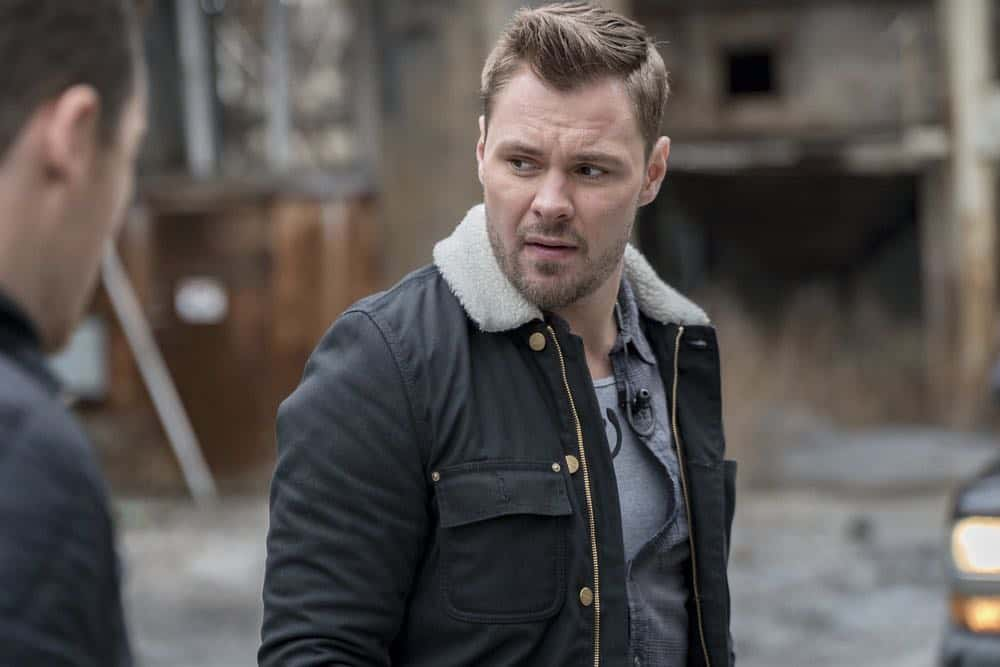 "CHICAGO P.D. -- ""Ghosts"" Episode 518 -- Pictured: Patrick John Flueger as Adam Ruzek -- (Photo by: Matt Dinerstein/NBC)"