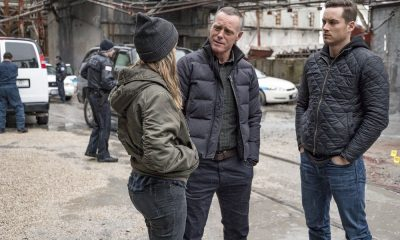 "CHICAGO P.D. -- ""Ghosts"" Episode 518 -- Pictured: (l-r) Tracy Spiridakos as Hailey Upton, Jason Beghe as Hank Voight, Jesse Lee Soffer as Jay Halstead -- (Photo by: Matt Dinerstein/NBC)"