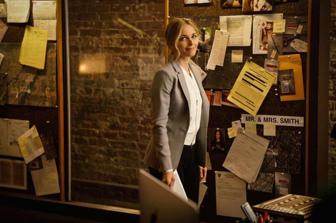 """""""Pilot"""" -- Former CIA operative Dr. Dylan Reinhart (Alan Cumming) is lured back to his old life when NYPD detective Lizzie Needham (Bojana Novakovic) needs his help to stop a serial killer, on the series premiere of INSTINCT, Sunday, March 18 (8:00-9:00, ET/PT) on the CBS Television Network.  Pictured  Bojana Novakovic as Det. Lizzie Needham    Photo: Jonathan Wenk /CBS © 2017 CBS Broadcasting Inc. All Rights Reserved."""