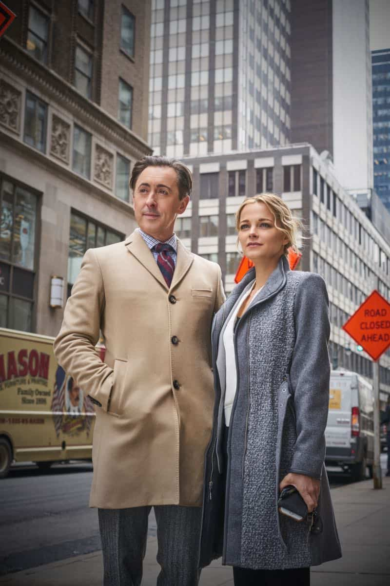 """""""Pilot"""" -- Former CIA operative Dr. Dylan Reinhart (Alan Cumming) is lured back to his old life when NYPD detective Lizzie Needham (Bojana Novakovic) needs his help to stop a serial killer, on the series premiere of INSTINCT, Sunday, March 18 (8:00-9:00, ET/PT) on the CBS Television Network.  Pictured (l-r) Alan Cumming as Dr. Dylan Reinhart  and  Bojana Novakovic as Det. Lizzie Needham   Photo: Jonathan Wenk /CBS © 2017 CBS Broadcasting Inc. All Rights Reserved."""