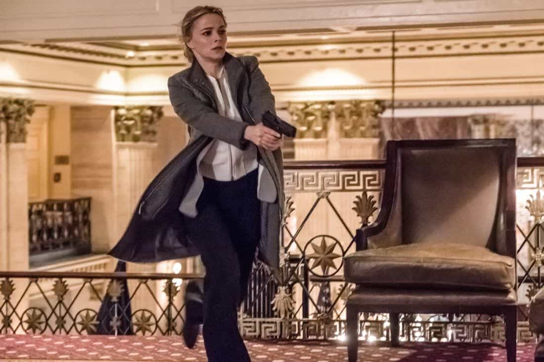 """""""Pilot"""" -- Former CIA operative Dr. Dylan Reinhart (Alan Cumming) is lured back to his old life when NYPD detective Lizzie Needham (Bojana Novakovic) needs his help to stop a serial killer, on the series premiere of INSTINCT, Sunday, March 18 (8:00-9:00, ET/PT) on the CBS Television Network.  Pictured  Bojana Novakovic as Det. Lizzie Needham   Photo: Jeff Neumann /CBS © 2017 CBS Broadcasting Inc. All Rights Reserved."""