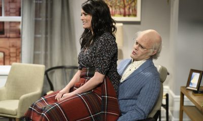 "SATURDAY NIGHT LIVE -- Episode 1741 ""Bill Hader"" -- Pictured: (l-r) Cecily Strong as Jeanie, Bill Hader as Horace during ""Game Night"" in Studio 8H on Saturday, March 17, 2018 -- (Photo by: Will Heath/NBC)"