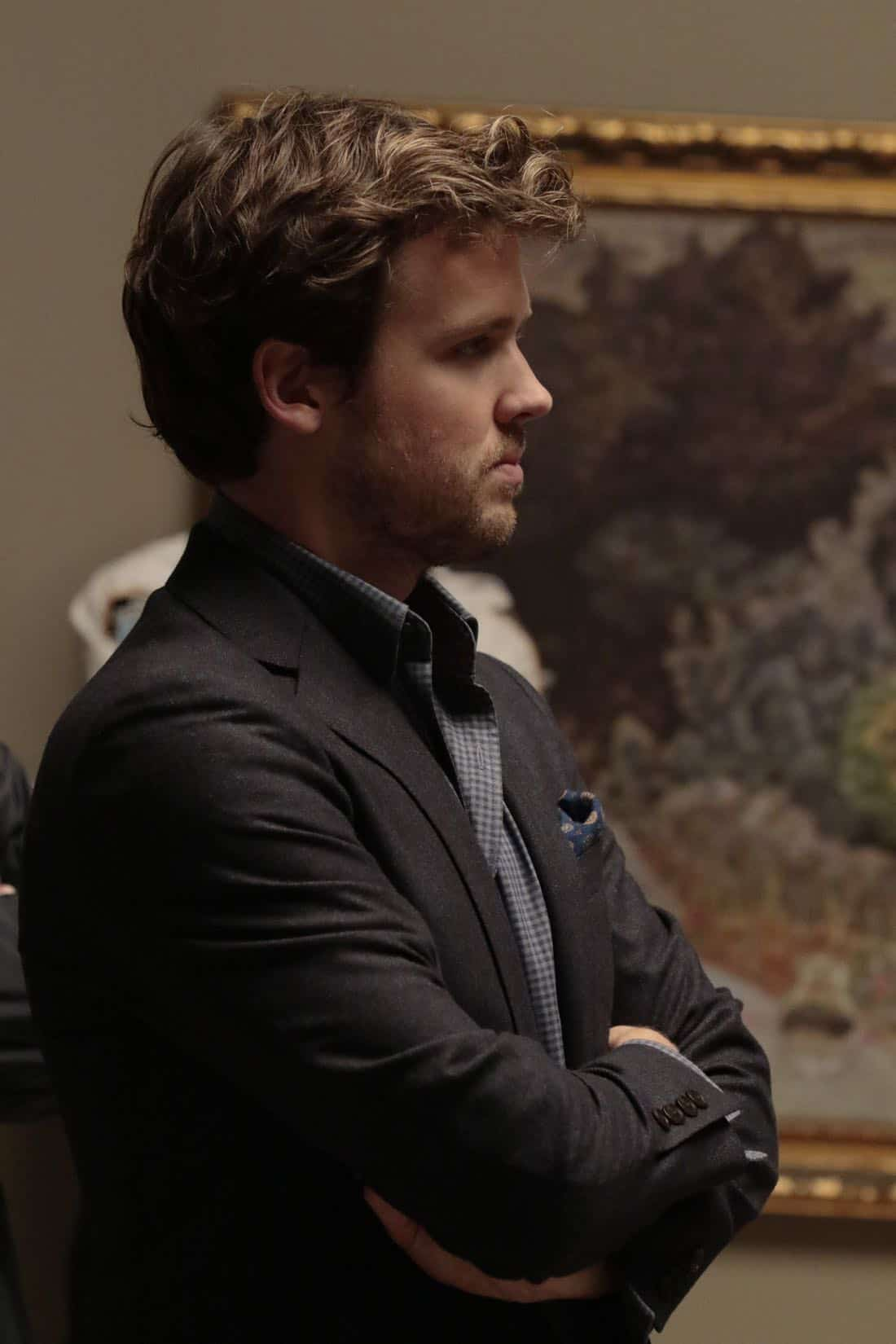 """DECEPTION - """"Escapology"""" - When an art museum docent is held hostage, Kay enlists Cameron and his team to help rescue her using the art of escapology, on """"Deception,"""" airing SUNDAY, MARCH 25 (10:01-11:00 p.m. EDT), on The ABC Television Network. (ABC/Giovanni Rufino) JACK CUTMORE"""