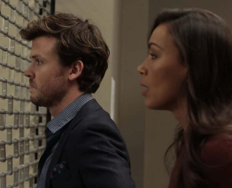 """DECEPTION - """"Escapology"""" - When an art museum docent is held hostage, Kay enlists Cameron and his team to help rescue her using the art of escapology, on """"Deception,"""" airing SUNDAY, MARCH 25 (10:01-11:00 p.m. EDT), on The ABC Television Network. (ABC/Giovanni Rufino) JACK CUTMORE, ILFENESH HADERA"""