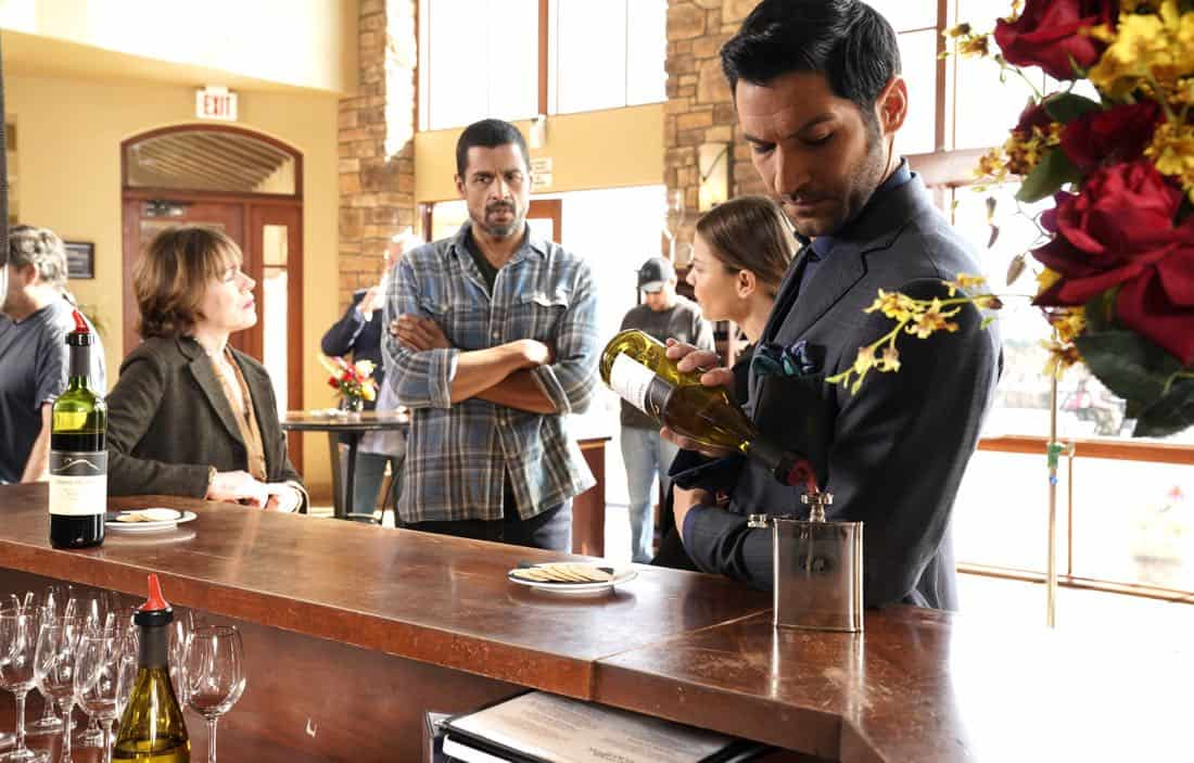 "LUCIFER: Tom Ellis in the ""Orange Is The New Maze"" episode of LUCIFER airingMonday, March 26 (8:00-9:00 PM ET/PT) on FOX. CR: Erik Voake/FOX"