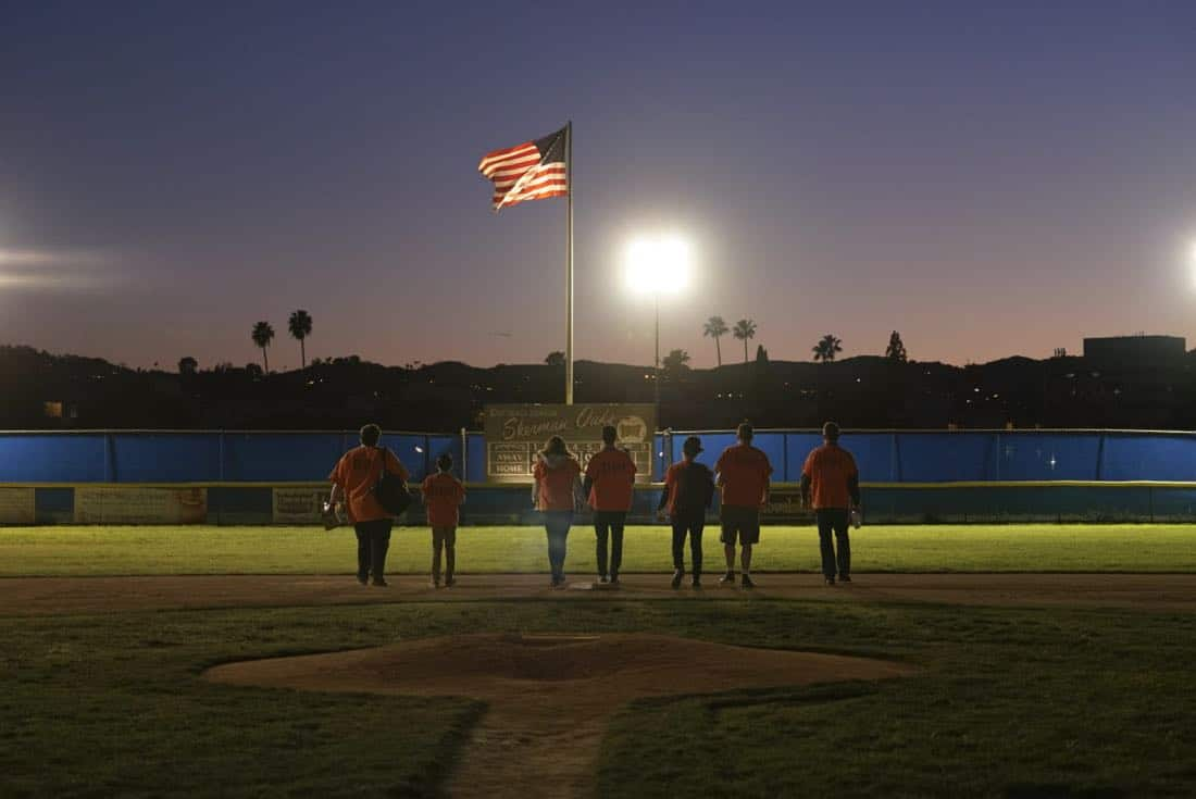 """Foul Balls"" -- Team Scorpion must use their high IQs to win a softball game when the homeland director challenges, with all of their future government contracts on the line. Also, Walter's secret night out with Florence puts Toby and Happy on edge, on SCORPION, Monday, March 26 (10:00-11:00 PM, ET/PT) on the CBS Television Network.    Photo: Cliff Lipson/CBS  ©2018 CBS Broadcasting, Inc. All Rights Reserved"