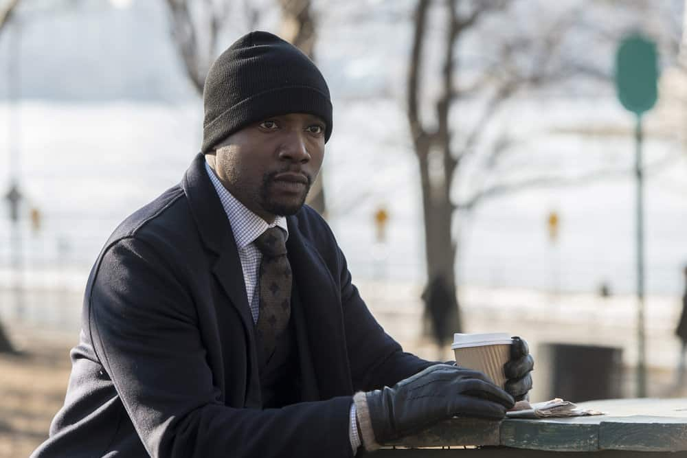 "BLINDSPOT -- ""Artful Dodge"" Episode 316 --  Pictured: Rob Brown as Edgar Reed -- (Photo by: David Giesbrecht/NBC/Warner Bros)"