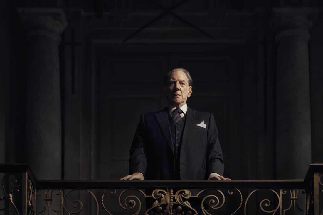 TRUST -- Pictured: Donald Sutherland as J. Paul Getty, Sr. CR: Kurt Iswarienko/FX