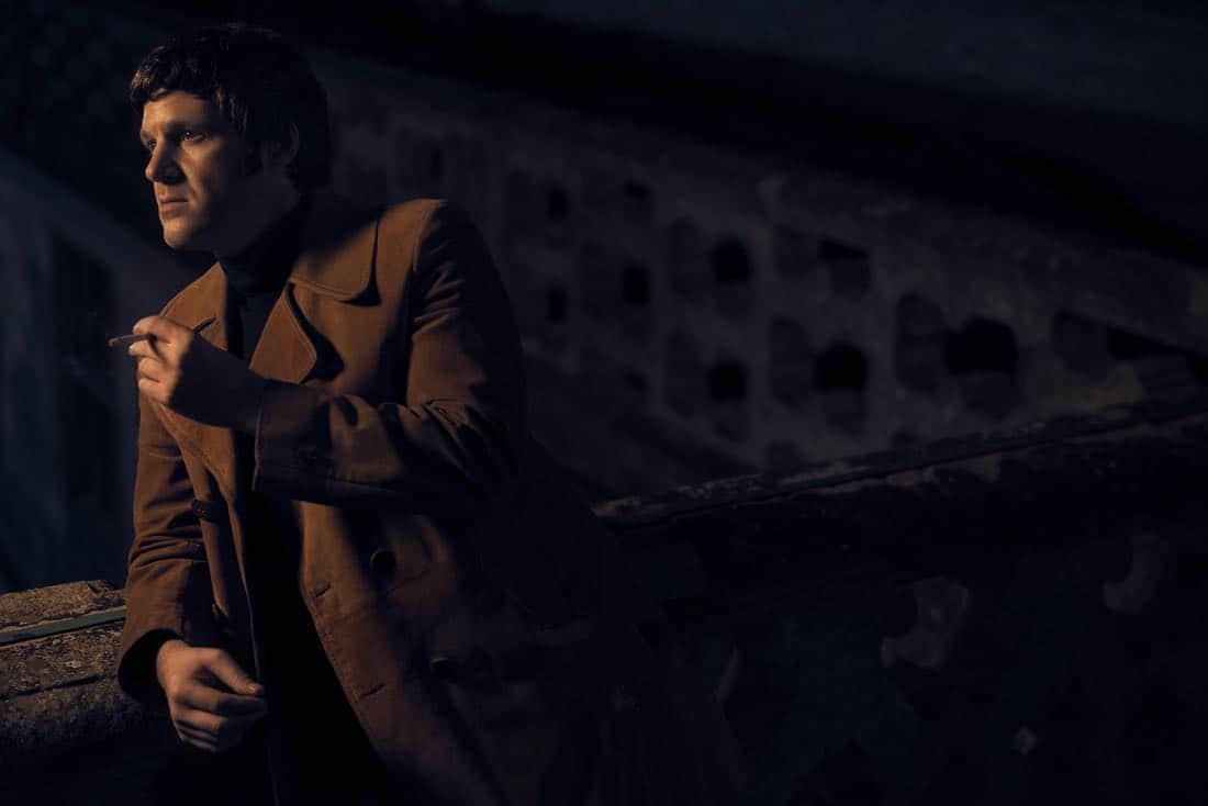 TRUST -- Pictured: Michael Esper as J. Paul Getty, Jr.. CR: Kurt Iswarienko/FX