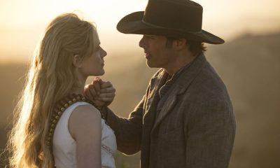 Episode 11 (season 2, episode 1), debut 4/22/18: Evan Rachel Wood, James Marsden. photo: John P. Johnson/HBO