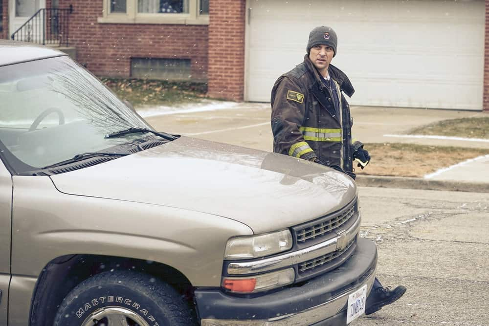 "CHICAGO FIRE -- ""Looking For A Lifeline"" Episode 614 -- Pictured: Jesse Spencer as Matthew Casey -- (Photo by: Elizabeth Morris/NBC)"