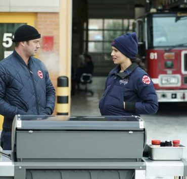 """CHICAGO FIRE -- """"Looking For A Lifeline"""" Episode 614 -- Pictured: (l-r) Taylor Kinney as Kelly Severide -- (Photo by: Elizabeth Morris/NBC)"""