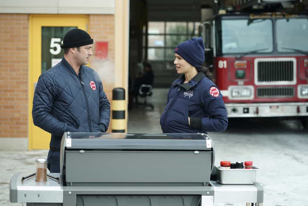"CHICAGO FIRE -- ""Looking For A Lifeline"" Episode 614 -- Pictured: (l-r) Taylor Kinney as Kelly Severide -- (Photo by: Elizabeth Morris/NBC)"