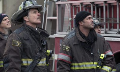 "CHICAGO FIRE -- ""The One That Matters Most"" Episode 616 -- Pictured: (l-r) Gary Cole as Chief Carl Grissom, Taylor Kinney as Kelly Severide -- (Photo by: Elizabeth Morris/NBC)"
