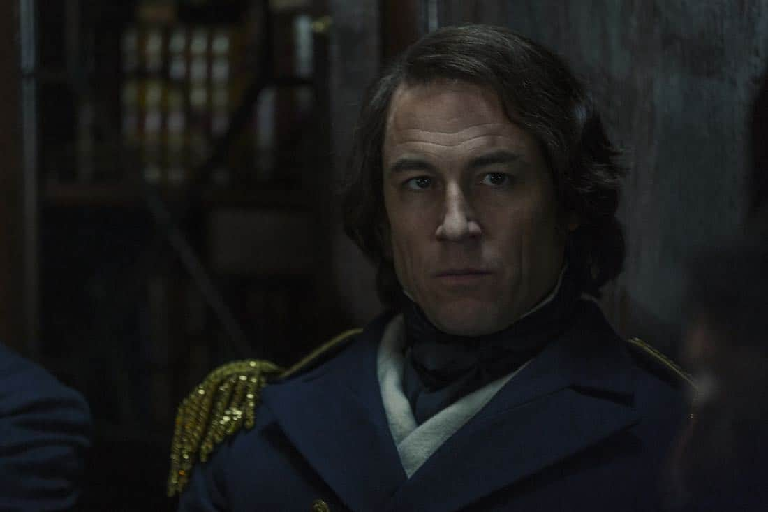 Tobias Menzies as James Fitzjames - The Terror _ Season 1, Episode 1 - Photo Credit: Aidan Monaghan/AMC
