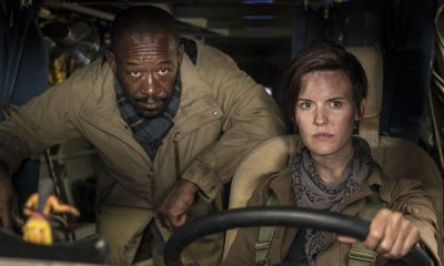 Maggie Grace as Althea, Lennie James as Morgan Jones - Fear the Walking Dead _ Season 4, Episode 1 - Photo Credit: Richard Foreman, Jr/AMC