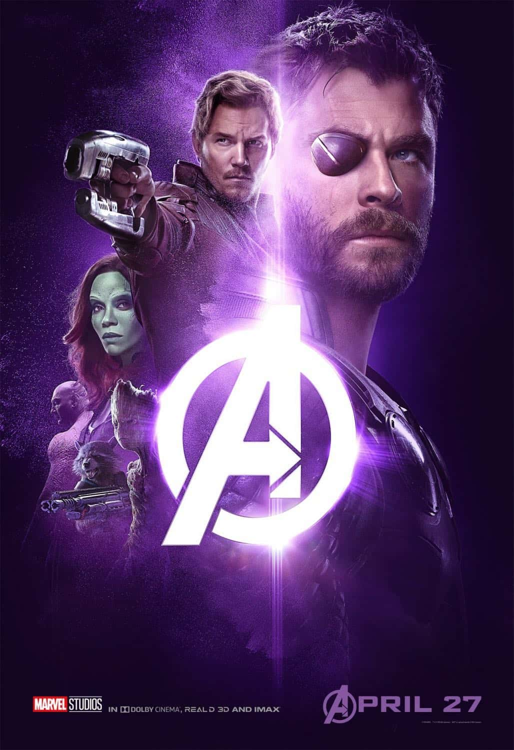 new avengers infinity war posters | seat42f
