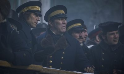 Ciarán Hinds as John Franklin, Tobias Menzies as James Fitzjames - The Terror _ Season 1, Episode 2 - Photo Credit: Aidan Monaghan/AMC