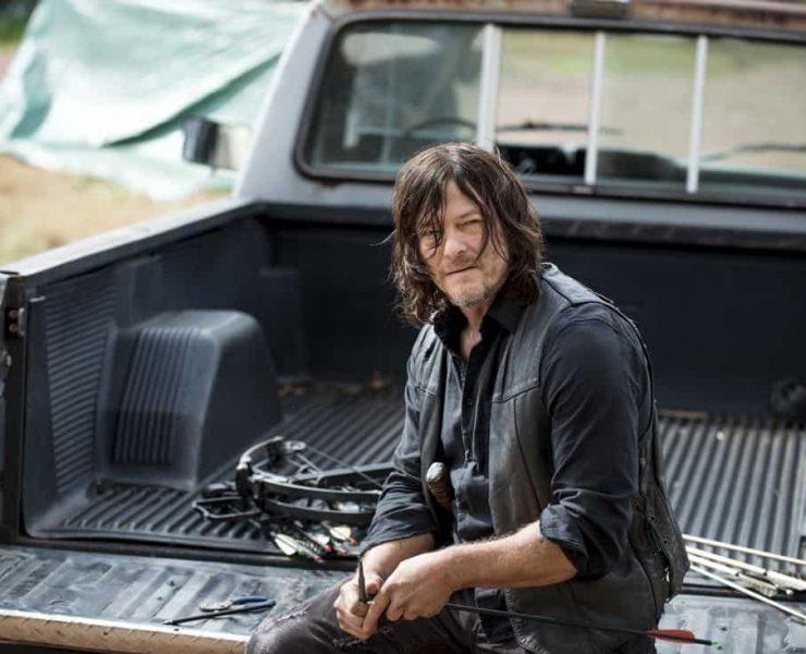 Norman Reedus as Daryl Dixon - The Walking Dead _ Season 8, Episode 14 - Photo Credit: Gene Page/AMC