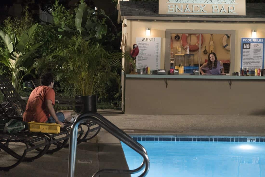 """THE GOLDBERGS - """"MTV Spring Break"""" - Hoping to get the true spring break experience, Erica and Barry visit Pops in Florida, yet it's nothing how they expected. Meanwhile, Adam tells the truth to Beverly and Murray but then gets a surprising reaction, on """"The Goldbergs,"""" WEDNESDAY, APRIL 4 (8:00-8:30 p.m. EDT), on The ABC Television Network. (ABC/Ron Tom) HAYLEY ORRANTIA"""