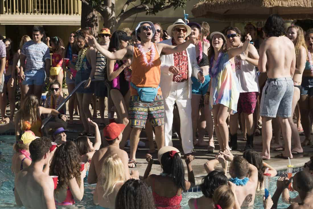 """THE GOLDBERGS - """"MTV Spring Break"""" - Hoping to get the true spring break experience, Erica and Barry visit Pops in Florida, yet it's nothing how they expected. Meanwhile, Adam tells the truth to Beverly and Murray but then gets a surprising reaction, on """"The Goldbergs,"""" WEDNESDAY, APRIL 4 (8:00-8:30 p.m. EDT), on The ABC Television Network. (ABC/Ron Tom) TROY GENTILE, GEORGE SEGAL, ALEX JENNINGS, HAYLEY ORRANTIA, SEAN MARQUETTE"""