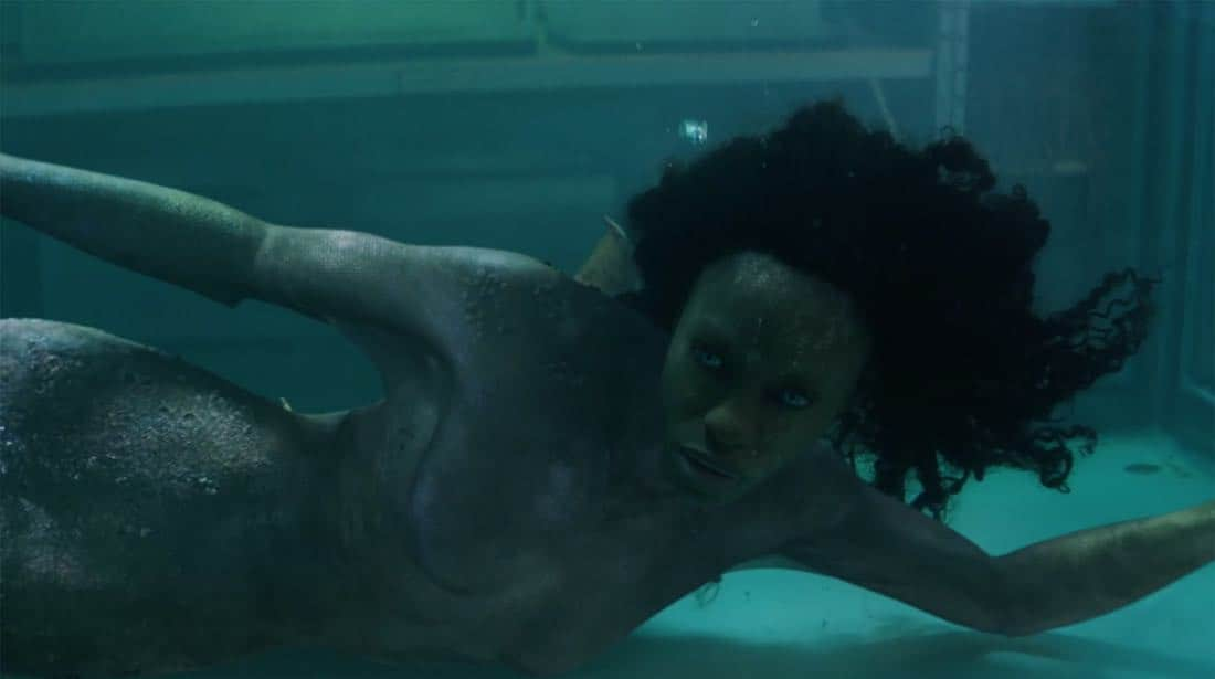 """SIREN – """"Pilot"""" – The coastal town of Bristol Cove, once known for being home to mermaids, is turned upside down with the arrival of a mysterious girl. This series premiere of """"Siren"""" airs Thursday, March 29 (8:00-9:01 p.m. EDT) on Freeform. (Freeform) SIBONGILE MLAMBO"""