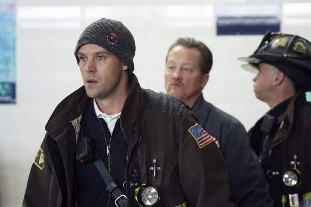 "CHICAGO FIRE -- ""Put White On Me"" Episode 617 -- Pictured: Jesse Spencer as Matthew Casey -- (Photo by: Elizabeth Morris/NBC)"