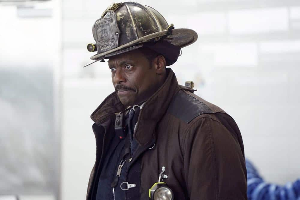 "CHICAGO FIRE -- ""Put White On Me"" Episode 617 -- Pictured: Eamonn Walker as Wallace Boden -- (Photo by: Elizabeth Morris/NBC)"
