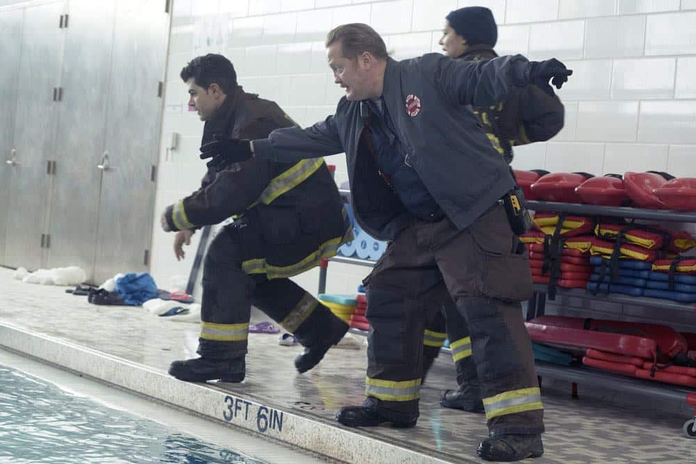 "CHICAGO FIRE -- ""Put White On Me"" Episode 617 -- Pictured: Christian Stolte as Mouch -- (Photo by: Elizabeth Morris/NBC)"