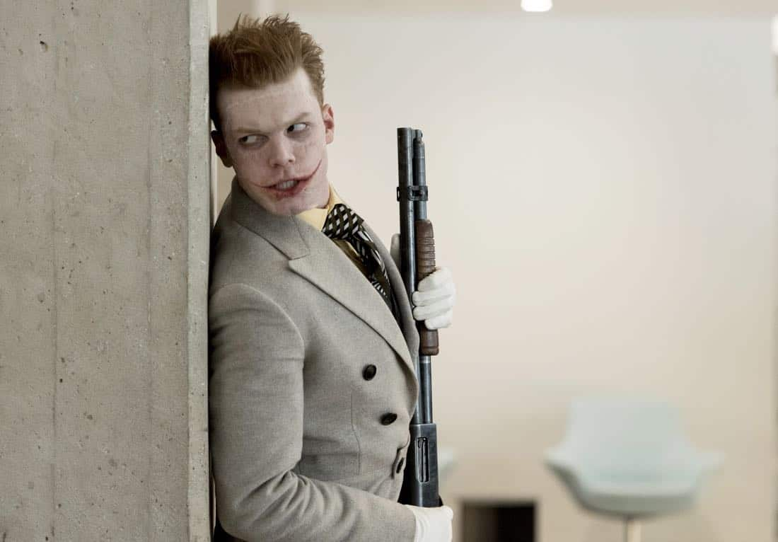 "GOTHAM: Guest star Cameron Monaghan in the ""A Dark Knight: Mandatory Brunch Meeting"" episode of GOTHAM airing Thursday, April 5 (8:00-9:00 PM ET/PT) on FOX.  ©2018 Fox Broadcasting Co. Cr: FOX"