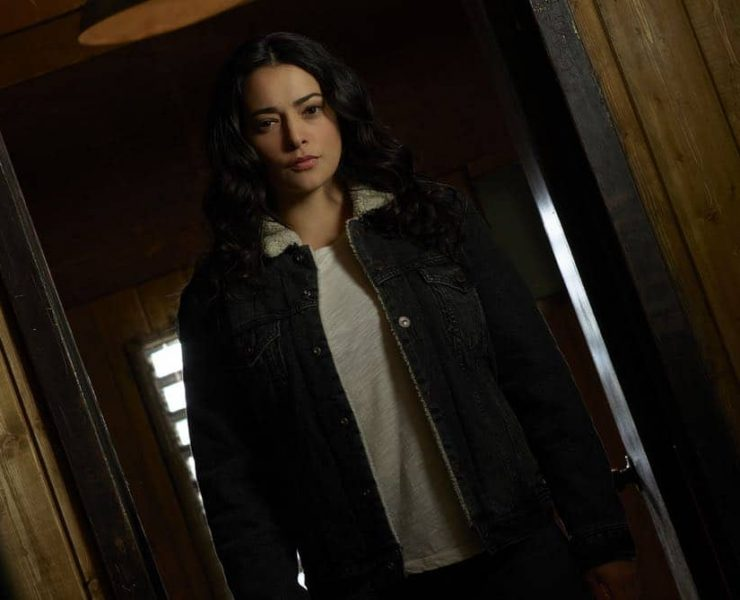 "THE CROSSING - ABC's ""The Crossing"" stars Natalie Martinez as Reece. (ABC/Bob D'Amico)"
