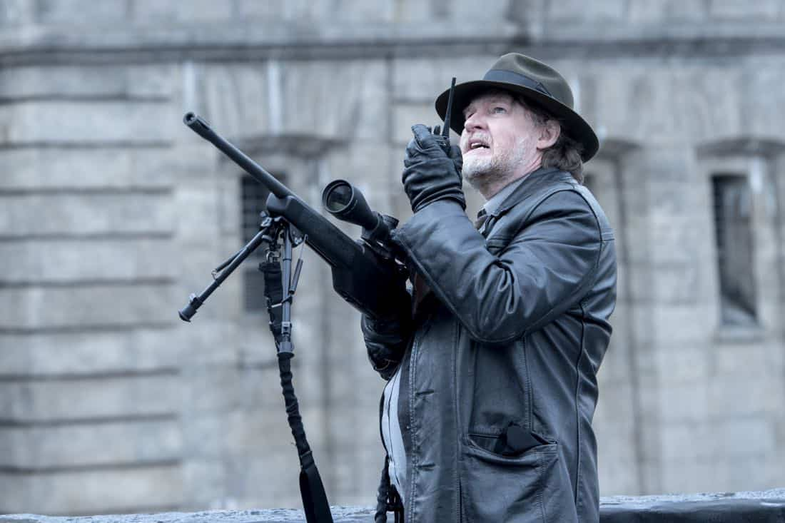 "GOTHAM: Donal Logue in the ""A Dark Knight: That's Entertainment"" episode of GOTHAM airing Thursday, April 12 (8:00-9:00 PM ET/PT) on FOX.  ©2018 Fox Broadcasting Co. Cr: FOX"