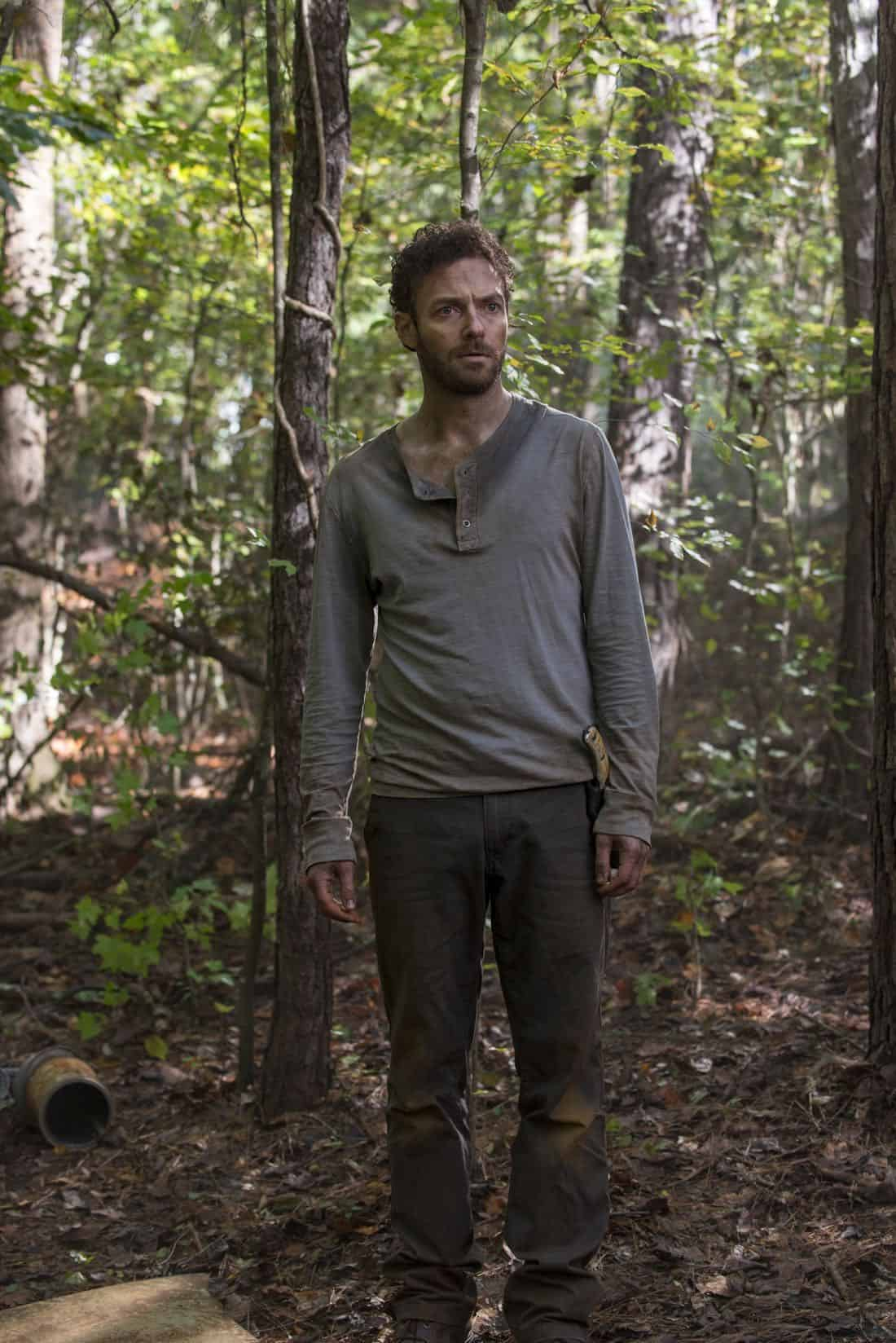 Ross Marquand as Aaron - The Walking Dead _ Season 8, Episode 15 - Photo Credit: Gene Page/AMC
