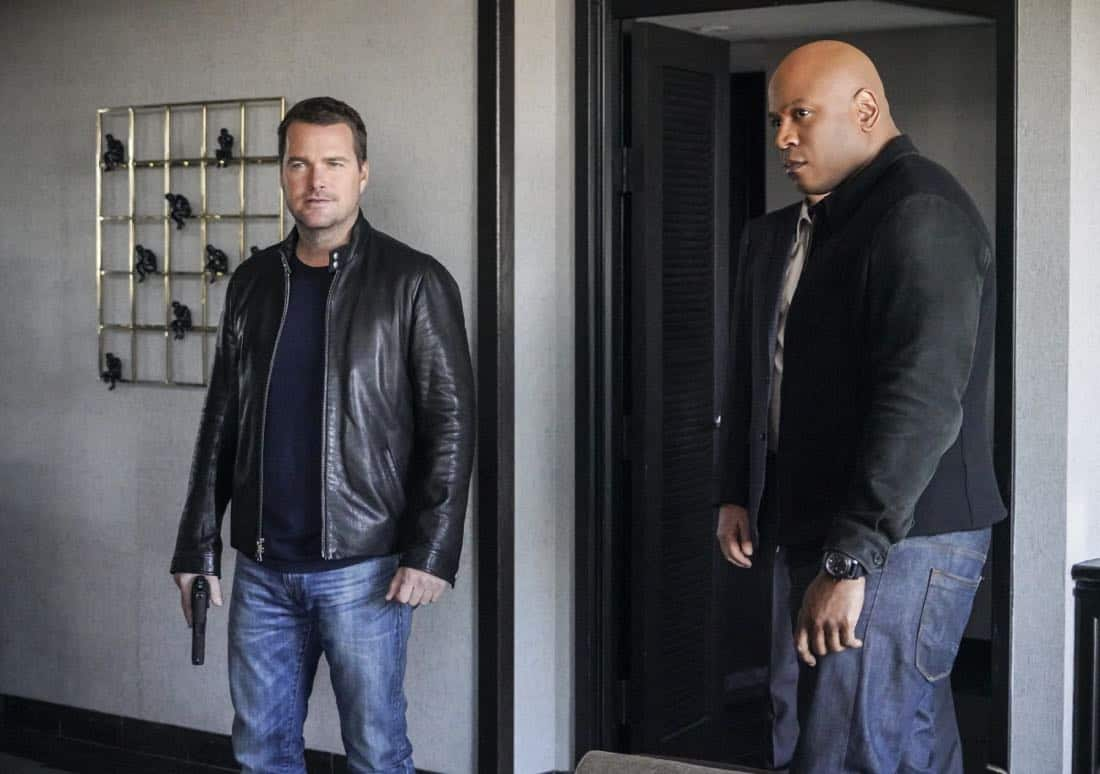 Chris O'Donnell and LL COOL J. Callen and Sam join forces with Anna Kolcheck and the Bureau of Alcohol Tobacco and Firearms, when Arkady Kolcheck