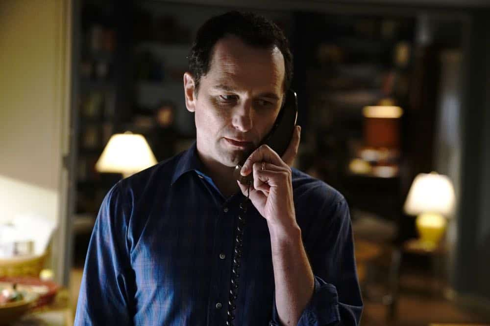 "THE AMERICANS -- ""Urban Transport Planning"" -- Season 6, Episode 3 (Airs Wednesday, April 11, 10:00 pm/ep) -- Pictured: Matthew Rhys as Philip Jennings. CR: Patrick Harbron/FX"