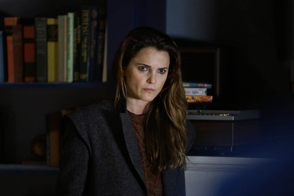 "THE AMERICANS -- ""Urban Transport Planning"" -- Season 6, Episode 3 (Airs Wednesday, April 11, 10:00 pm/ep) -- Pictured: Keri Russell as Elizabeth Jennings. CR: Patrick Harbron/FX"
