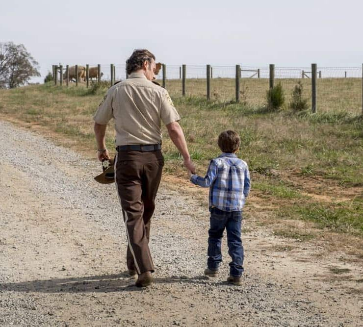 Andrew Lincoln as Rick Grimes - The Walking Dead _ Season 8, Episode 16 - Photo Credit: Gene Page/AMC