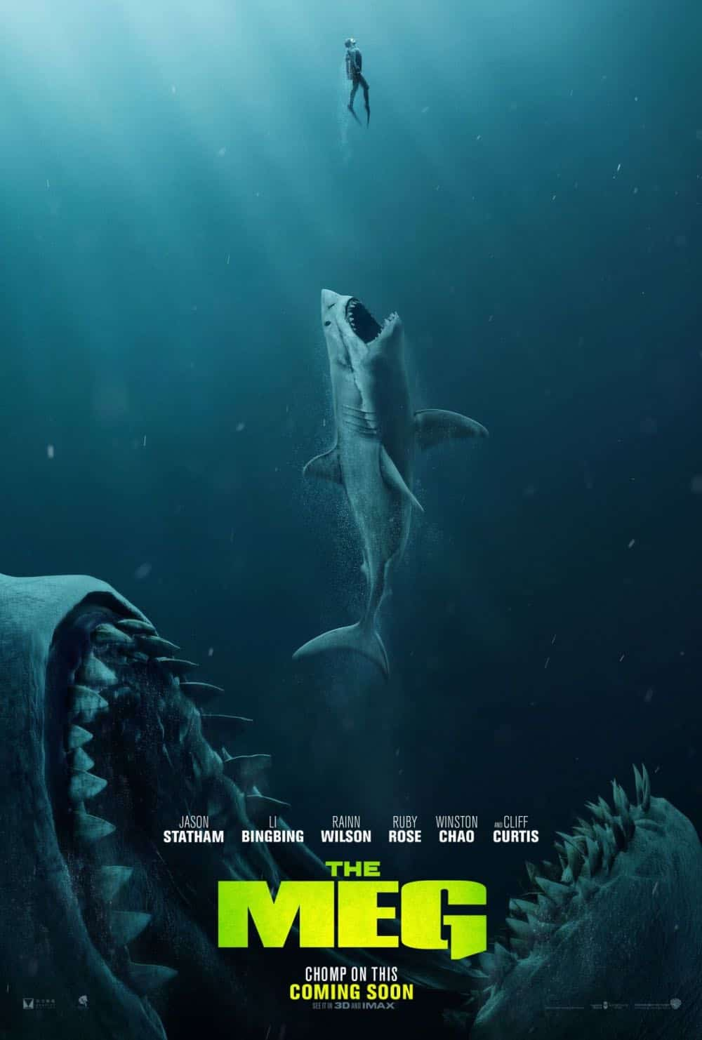 THE MEG Movie Trailer + Poster | | SEAT42F