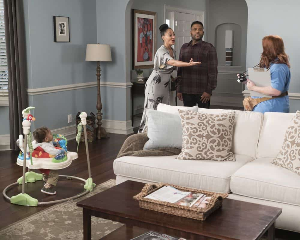 "BLACK-ISH - ""Dog Eat Dog World"" - The family is divided over the idea of getting a dog after Dre and Bow promise Jack they can get one after he gets Straight A's - and he does! Meanwhile, Bow's brother Johan is in town and he doesn't get the warm welcome he expects from Ruby, on ""black-ish,"" TUESDAY, APRIL 10 (9:00-9:30 p.m. EDT), on The ABC Television Network. (ABC/Eric McCandless) AUGUST AND BERLIN GROSS, TRACEE ELLIS ROSS, ANTHONY ANDERSON, DANA POWELL"