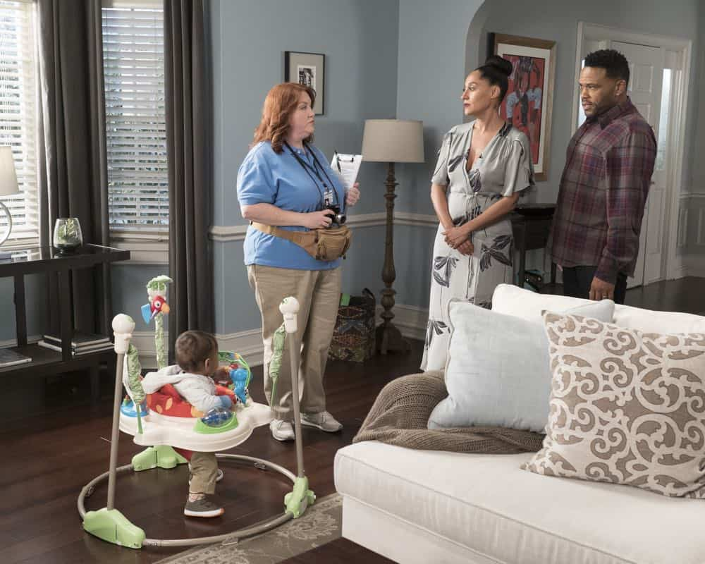 "BLACK-ISH - ""Dog Eat Dog World"" - The family is divided over the idea of getting a dog after Dre and Bow promise Jack they can get one after he gets Straight A's - and he does! Meanwhile, Bow's brother Johan is in town and he doesn't get the warm welcome he expects from Ruby, on ""black-ish,"" TUESDAY, APRIL 10 (9:00-9:30 p.m. EDT), on The ABC Television Network. (ABC/Eric McCandless) AUGUST AND BERLIN GROSS, DANA POWELL, TRACEE ELLIS ROSS, ANTHONY ANDERSON"