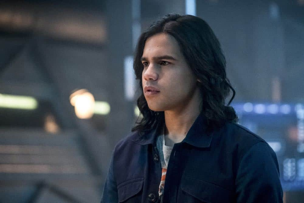 """The Flash -- """"Null and Annoyed"""" -- Image Number: FLA417a_0112b.jpg -- Pictured: Carlos Valdes as Cisco Ramon -- Photo: Katie Yu/The CW -- © 2018 The CW Network, LLC. All rights reserved"""
