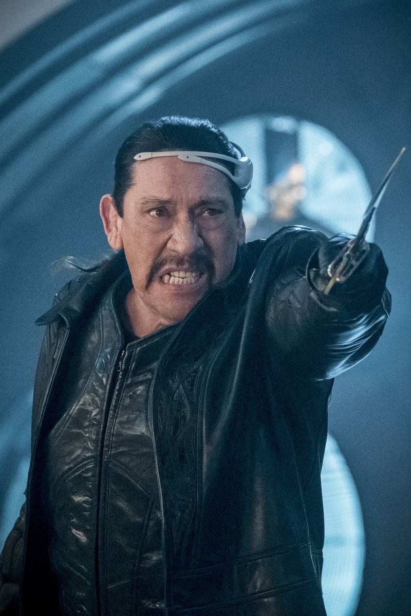 """The Flash -- """"Null and Annoyed"""" -- Image Number: FLA417a_0130b.jpg -- Pictured: Danny Trejo as Breacher -- Photo: Katie Yu/The CW -- © 2018 The CW Network, LLC. All rights reserved"""