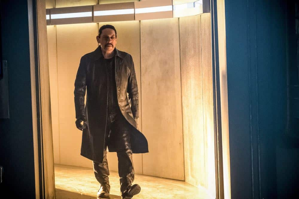 """The Flash -- """"Null and Annoyed"""" -- Image Number: FLA417a_0256b.jpg -- Pictured: Danny Trejo as Breacher -- Photo: Katie Yu/The CW -- © 2018 The CW Network, LLC. All rights reserved"""